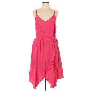 GAP Fuchsia Petal Asymmetrical Dress
